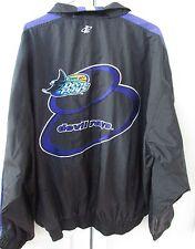 MLB Tampa Bay Devil Rays Full Zip Lightweight Jacket XL by Logo Ath EUC