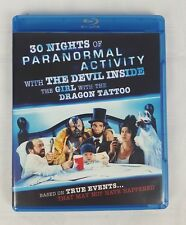 30 Nights of Paranormal Activity With the Devil Inside... (Blu-ray, 2013)