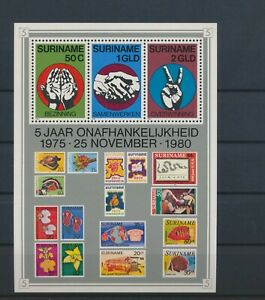 LO13280 Suriname 1980 independence good sheet MNH