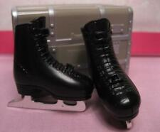 HOT SKATIN' 1990s Ken Doll Shoes~Black Ice SKATES Capades for Skating COSTUME