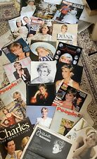 princess diana memorabilia Magazines Death Royal William Kate Wedding George