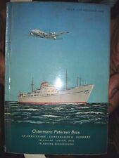 INDIA RARE - OSTERMANN PETERSEN BROS - DENMARK  PRICE LIST OCT 1953 ILLUSTRATED