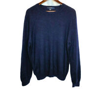 J. Crew Men's Sweater Pullover Long sleeve 100% Merino Wool Size Large