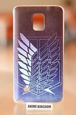 USA Seller Samsung Galaxy Note 4 IV Anime TPU Phone case Attack on Titan Symbol
