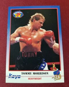 1991 Kayo Rising Star #060 TOMMY MORRISON RC ROOKIE Heavyweight