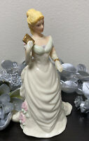 Lenox Moonlight Waltz Figurine Ivory Fine China Gold Accents Ladies of Elegance