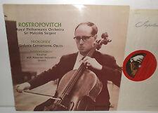 ALP 1640 PROKOFIEV SINFONIA CONCERTANTE & di RACHMANINOV vocalizzo ROSTROPOVITCH R/G