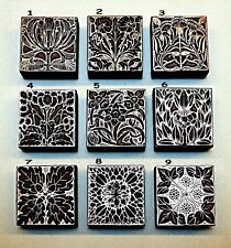 "9 ""ART NOUVEAU"" BOOKPLATES. Printing Blocks"