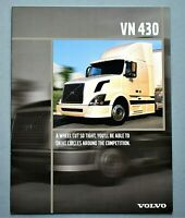 ORIGINAL 2004 VOLVO VN 430 HEAVY DUTY TRUCK BROCHURE ~ 8 PAGES  ~ T04VN430