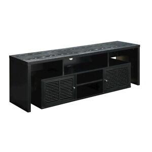 """Convenience Concepts Lexington 60"""" TV Stand, Black - 151394"""