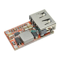 2/5PCS USB DC Buck Step Down Converter 6-24V 12V/24V to 5V 3A CAR Charger Module