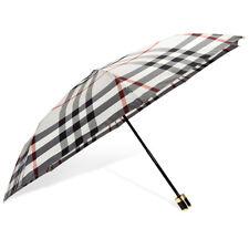 Burberry Check Folding Umbrella - Stone