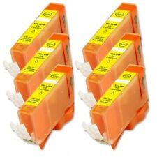 6P Yellow Quality Ink Cartridge for Canon CLI-221 MP640 MX860 MX870 MP980 MP990