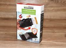 Echt Leder Security carte di credito con RFID protezione di easymaxx NERO Etuie NUOVO *