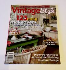 Vintage Style Magazine Refresh Recycle Redo 123 Easy Makeovers June 2017