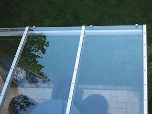VSG 10mm 0,76 klar Sicherheitsglas, für Vordach, Überdachung, Carport