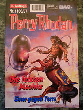 Perry Rhodan - Die letzten Maahks / Einer gegen Terra - Nr. 1136 1137 - NEU