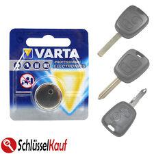 VARTA Batteria Auto Chiave Per Peugeot 107 206 207 307 CITROEN c1 c2 c3 c4 NUOVO