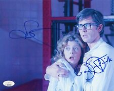 SUSAN SARANDON & BARRY BOSTWICK Hand-Signed ROCKY HORROR 8x10 Photo (JSA COA) B