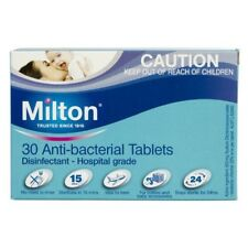 Milton Sterilising Tablets 30 Anti-Bacterial Effervescent Tablets