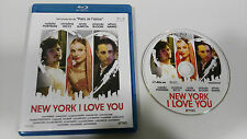 NEW YORK I LOVE YOU BLU-RAY NATALIE PORTMAN ORLANDO BLOOM ETHAN HAWKE
