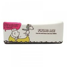 New! Snoopy glasses case Square Wipe Cloth Set gondola Peanuts f/s from Japan