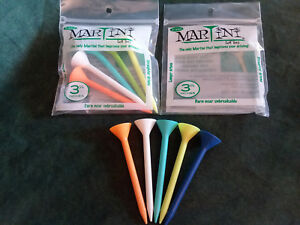 Martini Golf Tees, 3 1/4 Inches. ( 2 Packs ) You get 5 Tees In A Pack.