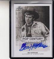 2013 LEAF POP CENTURY BO HOPKINS THE WILD BUNCH/AMERICAN GRAFFITI AUTOGRAPH AUTO
