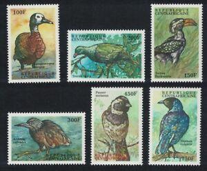 Central African Rep. Pigeon Duck Heron Birds 6v 2000 MNH MI#2426-2431 CV€8.50