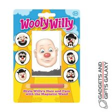 Wooly Willy Style Hair with Magnetic Wand Pocket Money Toy Stocking Filler
