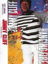 JIMMY CLIFF HANGING FIRE CASSETTE ALBUM Reggae Pop USA issue