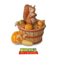 Autumn Blessings LE 2016 Hallmark Ornament Fall Harvest Squirrel Chipmunk Nature
