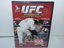 UFC Classics 3 (DVD, Canadian, Region 1 for USA/Canada) NEW - Extras - No Tax