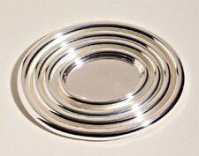 Vassoio Alessi ovale Jh02/40 in acciaio inossidabile 18/10 lucido Ø 40 cm - Tray