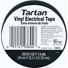 "20 ROLLS 3M 93604-1615 TARTAN Vinyl Electrical Tape .7"" X 60' FAST FREE SHIPPING"