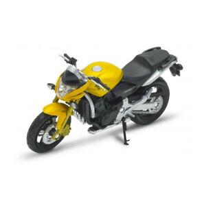 WELLY 12830 Honda Hornet Yellow Metallic Scale 1:18 Model Motorcycle New !°