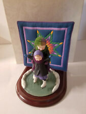 """Willitts Amish Heritage Collection """"Winter Fun"""" Figurine with Quilt 30023"""