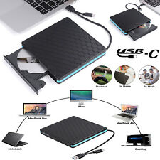 Type-C & USB 3.0 External Mobile Drive MacBook PC DVD CD Driver Recorder Burner