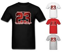 NEW Mens T-shirt Michael Air Legend 23 Jordan Chicago Bulls Men shirt Top Tumblr