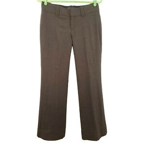 Banana Republic Pants Trouser 4 Brown Jackson Fit Stretch Wool Blend Lined