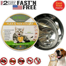 Dewel Cheaper than Seresto! Flea & Tick Collar For Cats 8 Month Protection -New