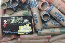 Nf String (100) Assorted Coin Wrappers Preformed Shotgun Wrapping Tube Roll