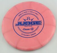 NEW Classic Hard Burst Judge 173g Putter Dynamic Discs Golf Disc at Celestial