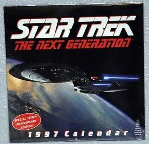 Star Trek Next Generation 1997 Calendar