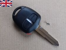 UK SELLER Mitsubishi L200 Shogun Lancer OUTLANDER 2 Button FOB Remote Key Case