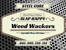 ~ HALF SET STEEL CORE Synthetic Gut Upright Double Bass WEEDWACKER STRINGS