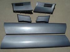 MERCEDES SL 129 90-95 SL500 FENDER DOOR MOULDING MOLDING SET SILVER OEM