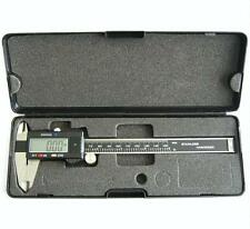 "New 6"" Stainless Steel Digital Caliper w / Extra-Large LCD Screen SAE & MM"