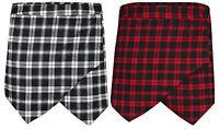Women Ladies Tartan Print Skirt Shorts Flanging Culottes Wrap Skorts Irregular