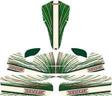 Tonykart EVRR Style Complet Kart Kit Autocollant-Karting-jakedesigns